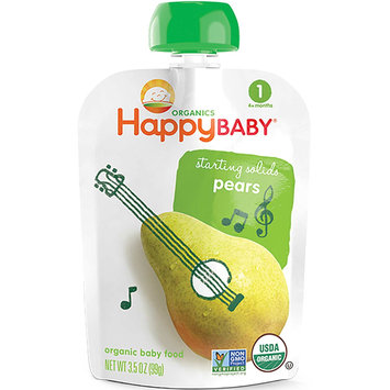 Happy Baby® Organics Starting Solids Pears Baby Food