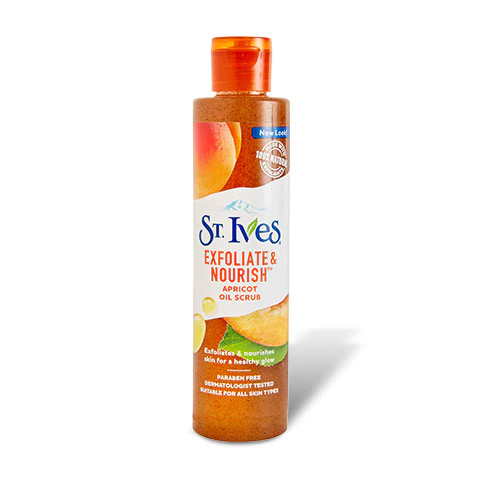 Slide: St. Ives Exfoliate & Nourish Apricot Oil Scrub