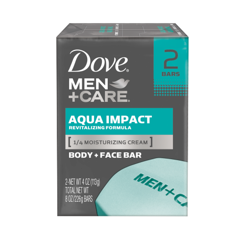 Dove Men+Care Aqua Impact Body And Face Bar