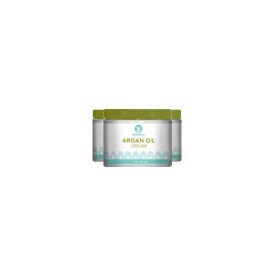 Piping Rock Argan Oil Cream 3 Jars x 4 oz Cream