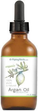 Piping Rock Argan Oil Moroccan Organic Pure 2 fl oz Liquid Gold