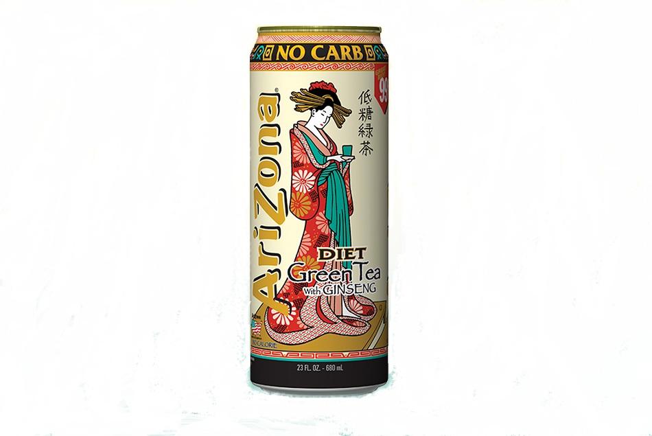 AriZona Diet Green Tea With Ginseng