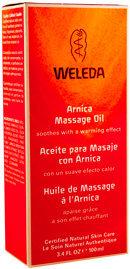 Weleda Arnica Massage Oil 3.4 fl oz Oil