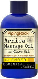 Piping Rock Arnica Massage Oil 4 fl oz (118 mL)