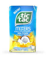 Tic Tac Mixers Pina Colada Coconut To Pineapple Mints