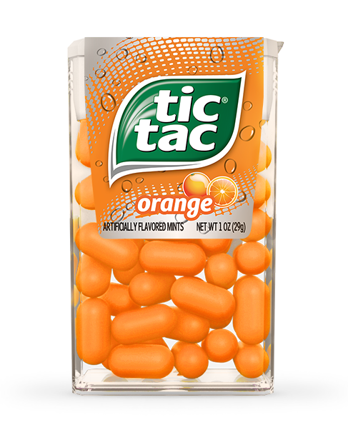 Tic Tac Orange Mints