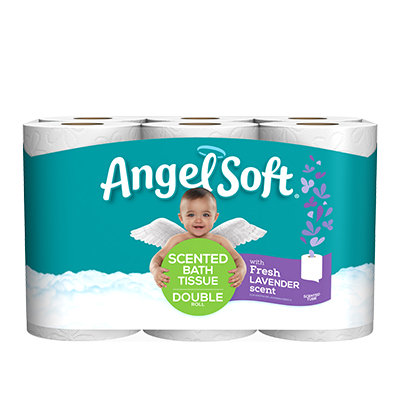 Angel Soft® with Fresh Lavender Scent