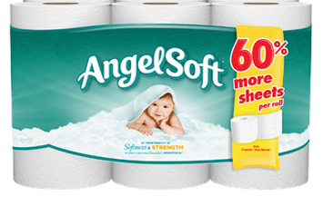 Angel Soft Classic White Bath Tissue