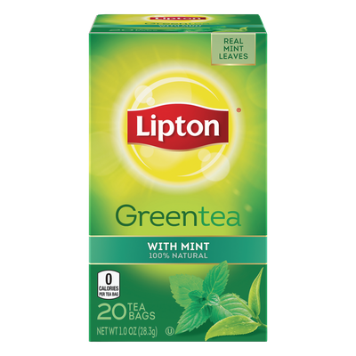 Lipton® Green Tea with Mint