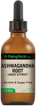 Piping Rock Ashwagandha Liquid Extract (Lemon Flavor) 1 fl oz