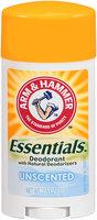 ARM & HAMMER™ Essentials™ Solid Deodorant Unscented