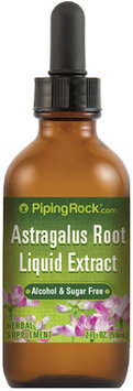 Piping Rock Astragalus Root Liquid Extract Alcohol Free 2 fl oz (59 mL)