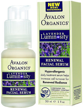 Avalon Organics Renewal Facial Serum Lavender