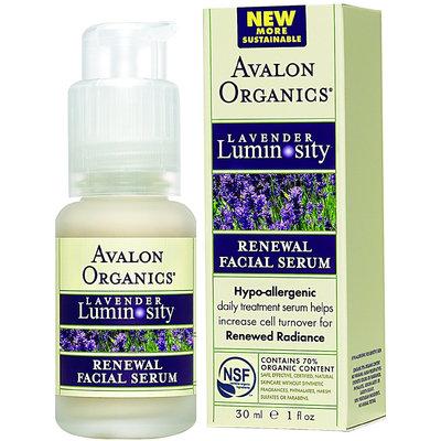 Avalon Organics Renewal Facial Serum Lavender