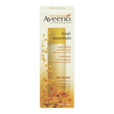 Aveeno Fresh Essentials Nourishing Moisturizer with SPF 30