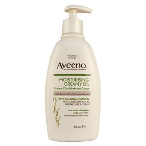 Aveeno Moisturising Creamy Oil with Sweet Almond Oil 300ml