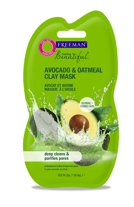 Freeman Feeling Beautiful Purifying Avocado & Oatmeal Clay Mask