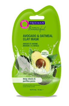Freeman Feeling Beautiful Purifying Avocado & Oatmeal Clay Mask