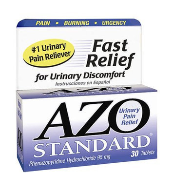 Azo Uti Treatment Standard