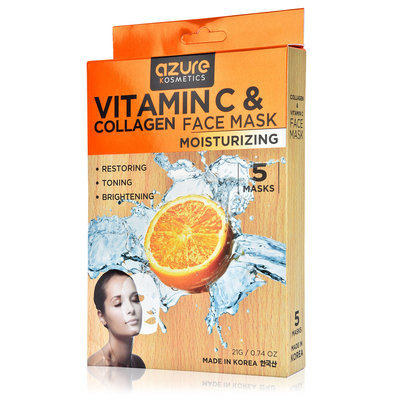 Azure Kosmetics Vitamin C & Collagen Face Mask