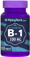 Piping Rock Vitamin B-1 100mg 180 Tablets