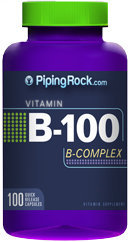 Piping Rock B-100 Vitamin B Complex 100 Capsules