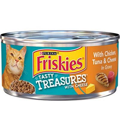 Friskies® Chicken Tuna & Cheese in Gravy Wet Cat Food
