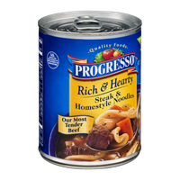Progresso Rich & Hearty Steak & Homestyle Noodles Soup