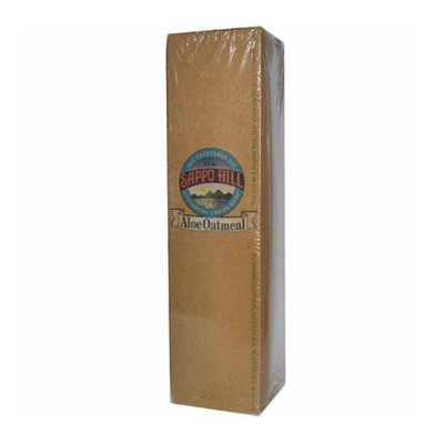 Sappo Hill Soapworks Glyceryne Creme Soap Aloe Oatmeal Case of 12 3.5 oz