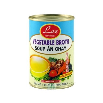 Urasianstore.com Lee Vegetable Broth 14.15 Oz (Small)
