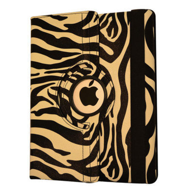 Bargain Tablet Parts Zebra Rotating Case