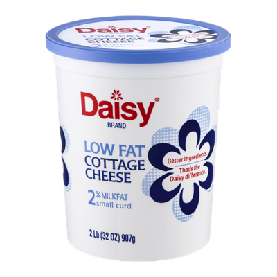 Daisy Low Fat Cottage Cheese 2% Milkfat Small Curd