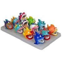 Mojetto Blue Ribbon Pet Products ABLEE322DPL 12-Piece Fun Fish Cave Tray Ornaments for Aquarium, Mini