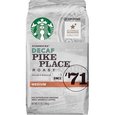 Starbucks Coffee Decaf Pike Place Roast Coffee
