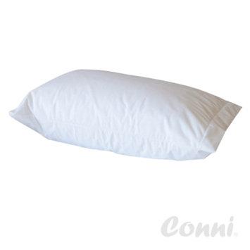 Conni Micro-Plush Pillow Protector, White, Queen, 1 ea