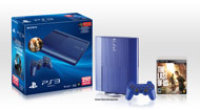 Sony Computer Entertainment PlayStation 3 GameStop Exclusive Azurite Blue 250GB System with The Last of Us Bundle