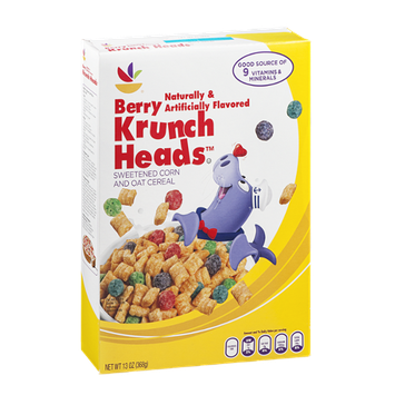 Ahold Berry Krunch Heads Cereal