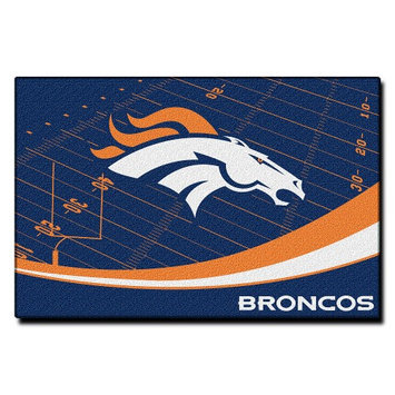 Northwest Company NFL Denver Broncos Extra Point Rug