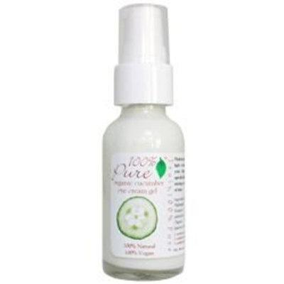 100% Pure Organic Cucumber Eye Cream Gel