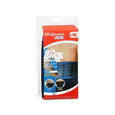 Walgreens Ace Deluxe Back Stabilizer