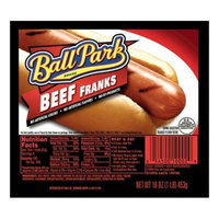 Ball Park Beef Franks 16 oz