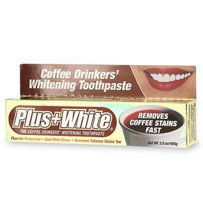 Plus White Coffee Drinkers' Whitening Toothpaste