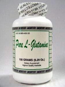 Pure L-Glutamine (powder) 150 gms by Montiff