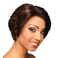 EVE BEYONCE 82 Lace Front Synthetic Wig- Color #2- Dark Brown