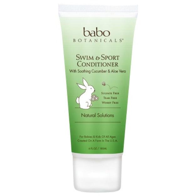 Babo Botanicals Swim & Sport Conditioner Soothing Cucumber & Aloe Vera