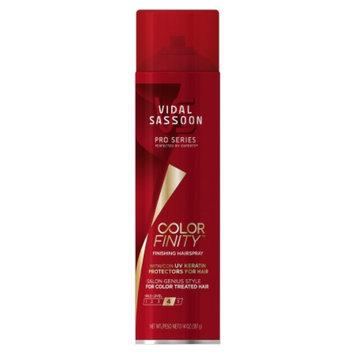 Vidal Sassoon Pro Series Color Finity Finishing Hair Spray - 14 oz