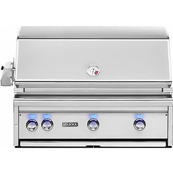 Lynx L36R1NG Professional Grill 36 Stainless Steel Built-In Gas Grill