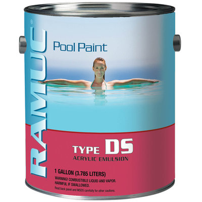 Topo-logic Systems, Inc. TOPO-LOGIC SYSTEMS, INC. Ramuc DS Acrylic White Pool Paint - TOPO-LOGIC SYSTEMS, INC.