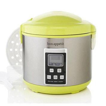Bon Appetit BADRC010G 5 Function Green Multicooker with Steamer Basket
