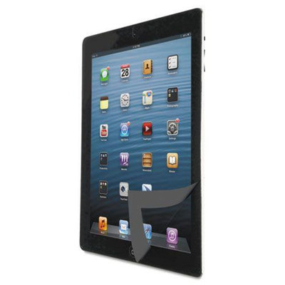 Kantek Bubble-Free Protective Filter, for iPad, Black